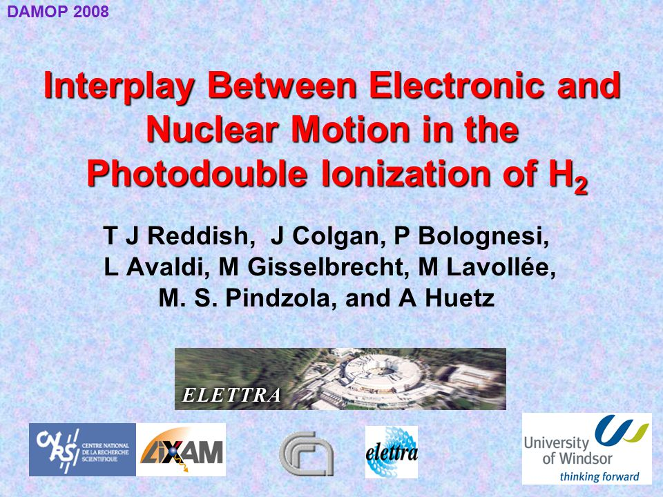 Interplay Between Electronic and Nuclear Motion in the Photodouble Ionization of H 2 T J Reddish, J Colgan, P Bolognesi, L Avaldi, M Gisselbrecht, M L