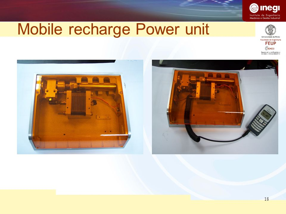 18 Mobile recharge Power unit