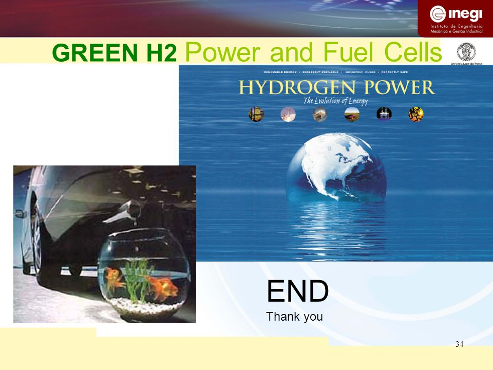 34 GREEN H2 Power and Fuel Cells END Thank you
