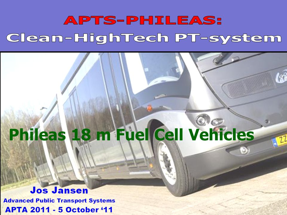 1 Phileas 18 m Fuel Cell Vehicles