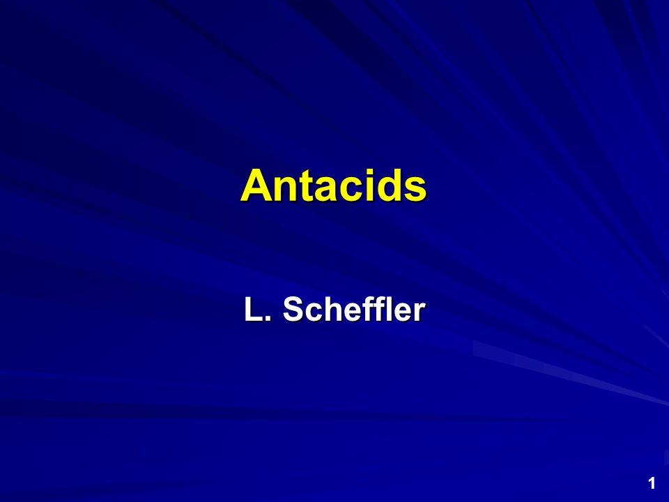 Alginates and Antifoaming Agents Antacids are often combined with alginates and anti-foaming agents.