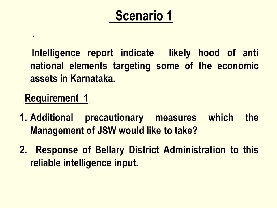 Scenario 1.