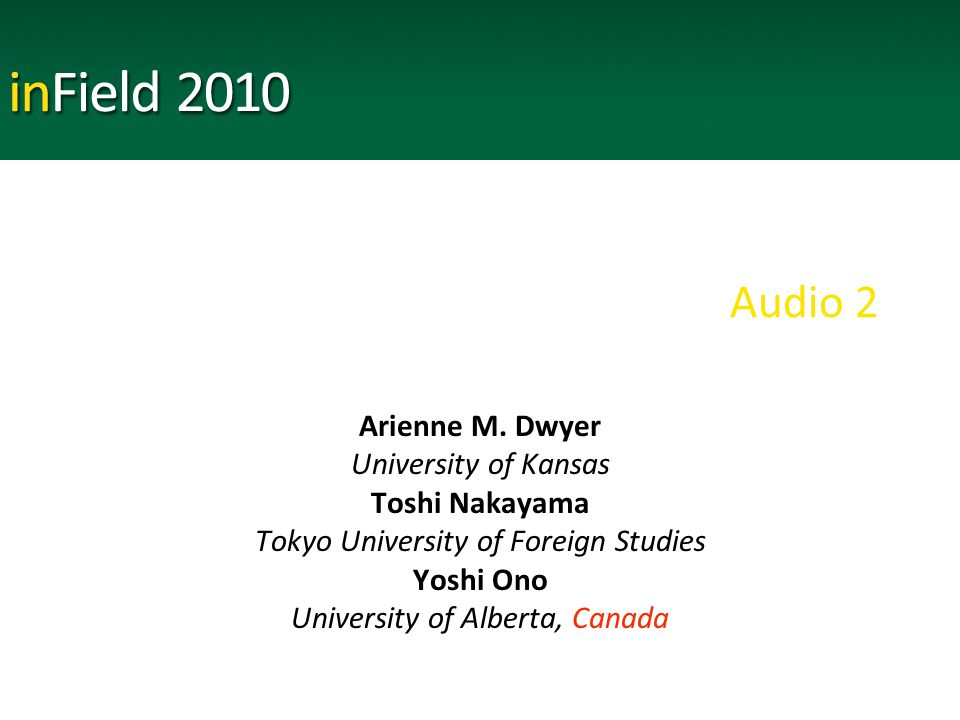 Audio 2 Arienne M.