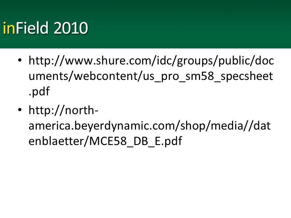 http://www.shure.com/idc/groups/public/doc uments/webcontent/us_pro_sm58_specsheet.pdf http://north- america.beyerdynamic.com/shop/media//dat enblaetter/MCE58_DB_E.pdf