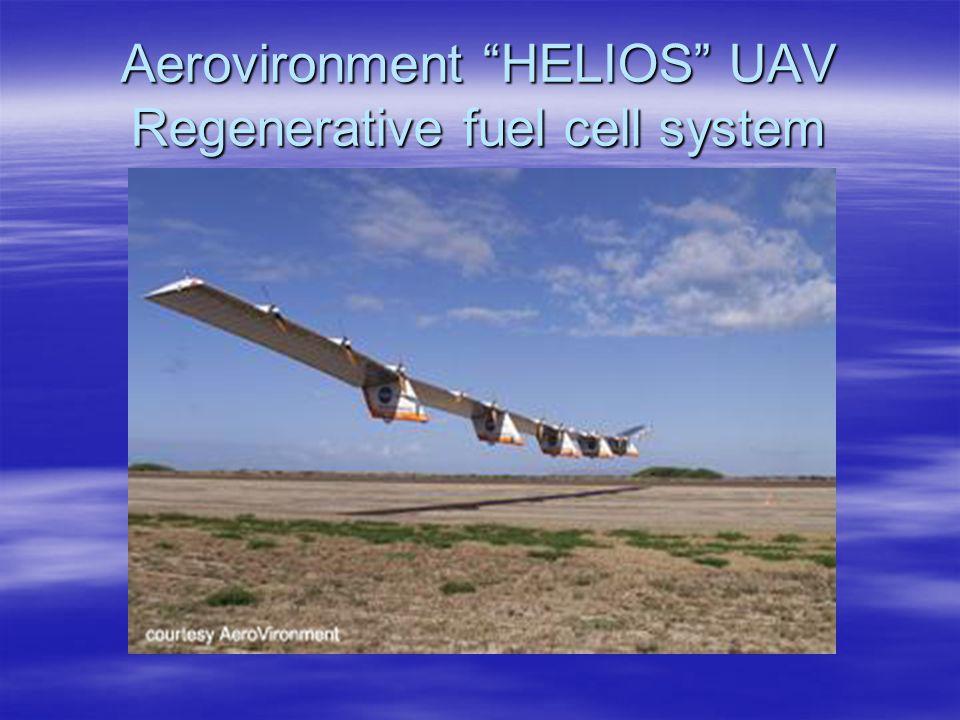 "Aerovironment ""HELIOS"" UAV Regenerative fuel cell system"