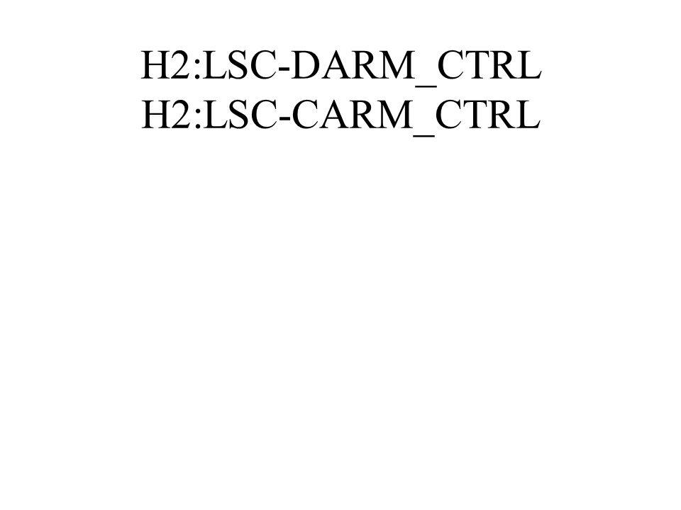 H2:LSC-DARM_CTRL H2:LSC-CARM_CTRL