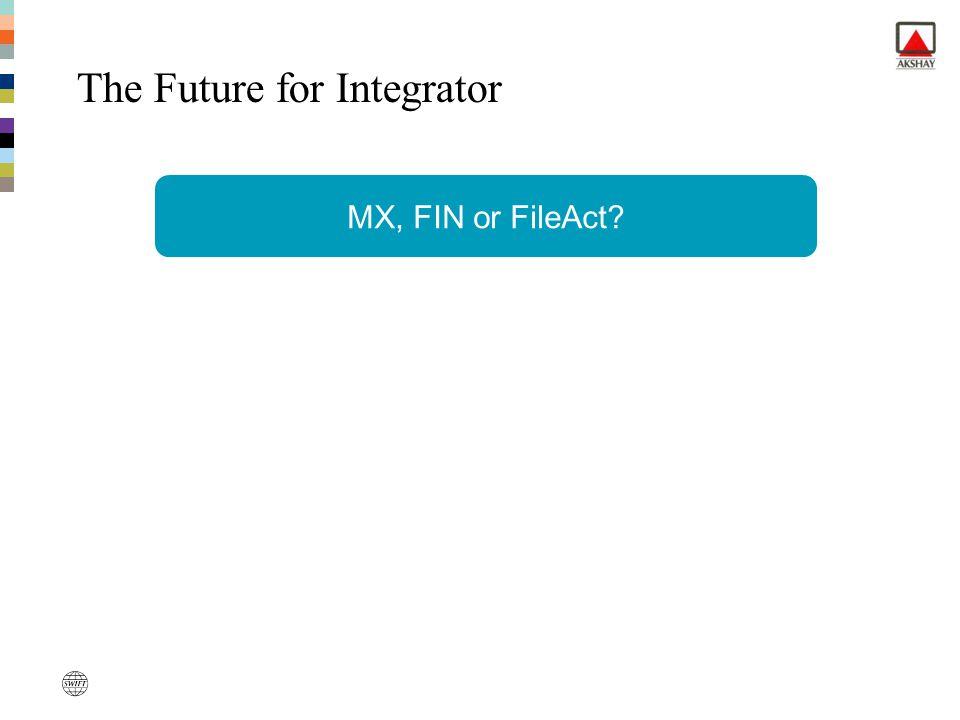 MX, FIN or FileAct? The Future for Integrator
