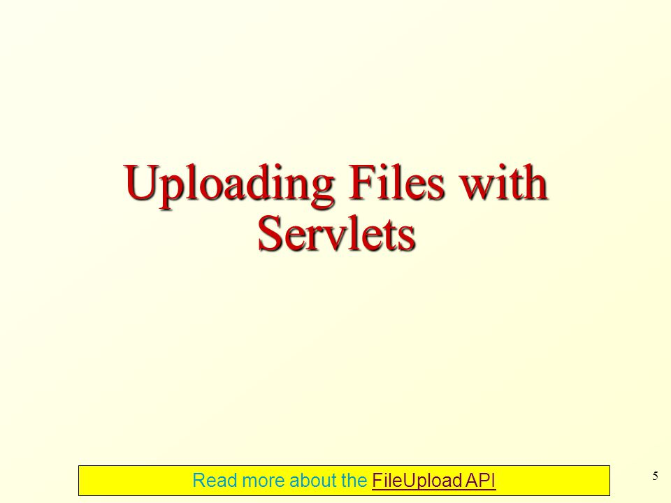 36 Filters in Servlet API Filters are used to dynamically intercept requests and responses A filter that applies to a URL u typically acts as follows given a request for u -performs some actions before the processing of u -passes the request handling to the next filter -The last filter passes the request to u itself -performs some actions after the processing of u