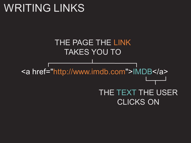 HTML IMDB (opens in a new window) OPENING LINKS IN A NEW WINDOW