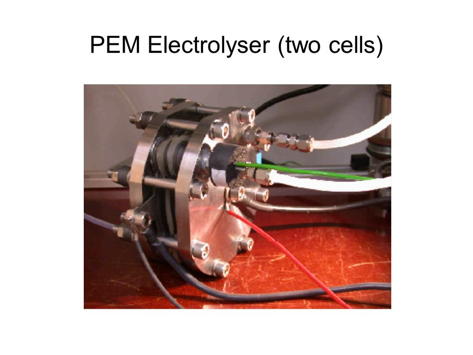 PEM Electrolyser (two cells)
