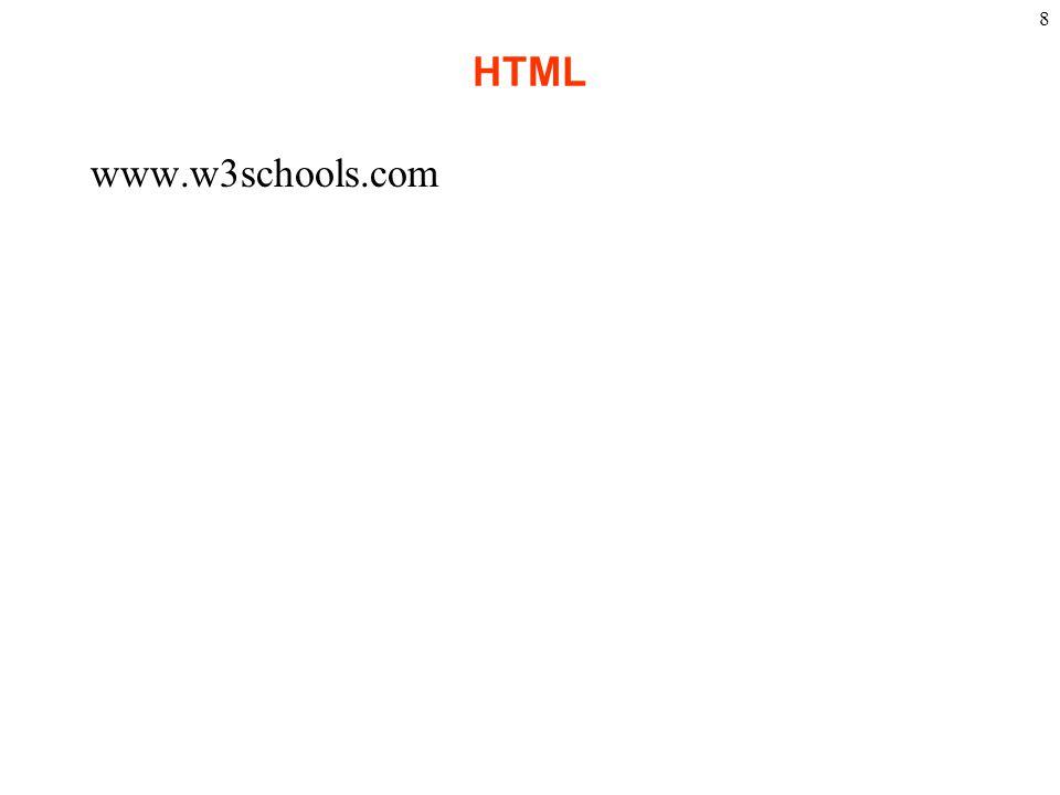 HTML www.w3schools.com 8