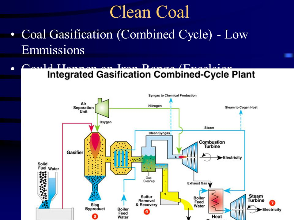 Clean Coal Coal Gasification (Combined Cycle) - Low Emmissions Could Happen on Iron Range (Excelsior Project)