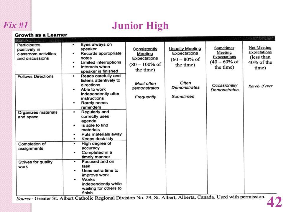 Junior High 42 Fix #1