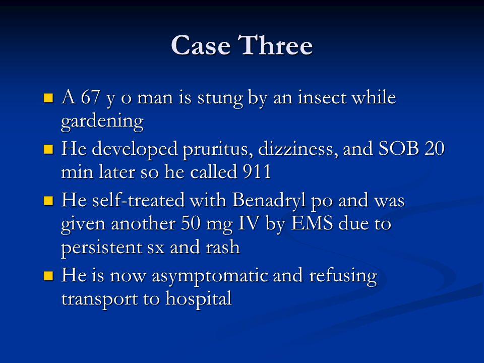Case Three: Do you transport.