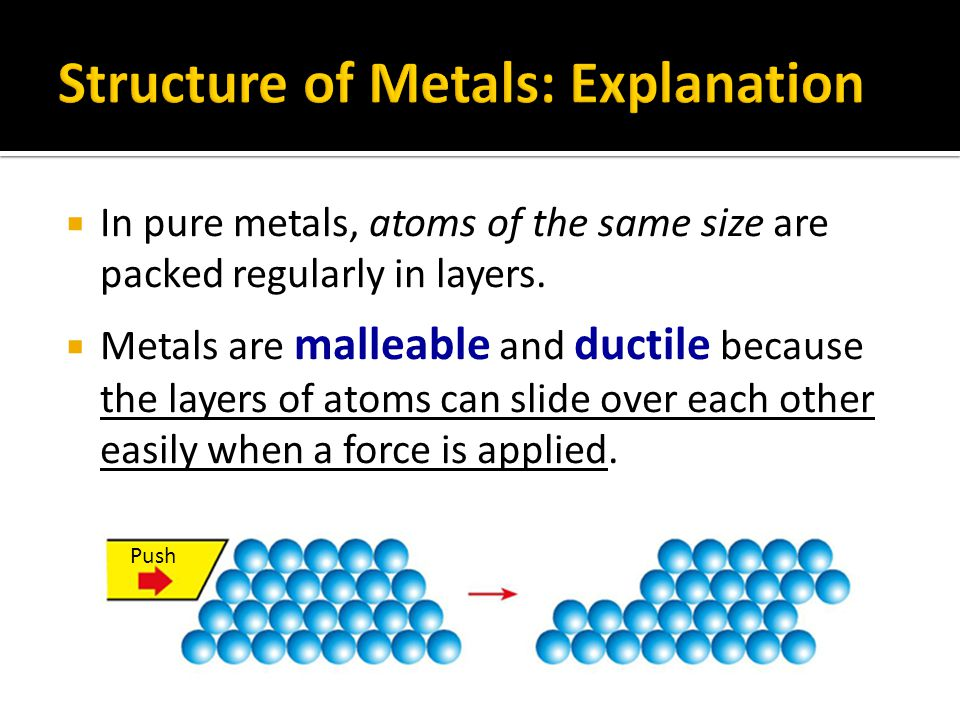  Group I metals:  Low melting point  Low density (it floats on water)  Mercury:  Liquid at room temperature  Low melting point