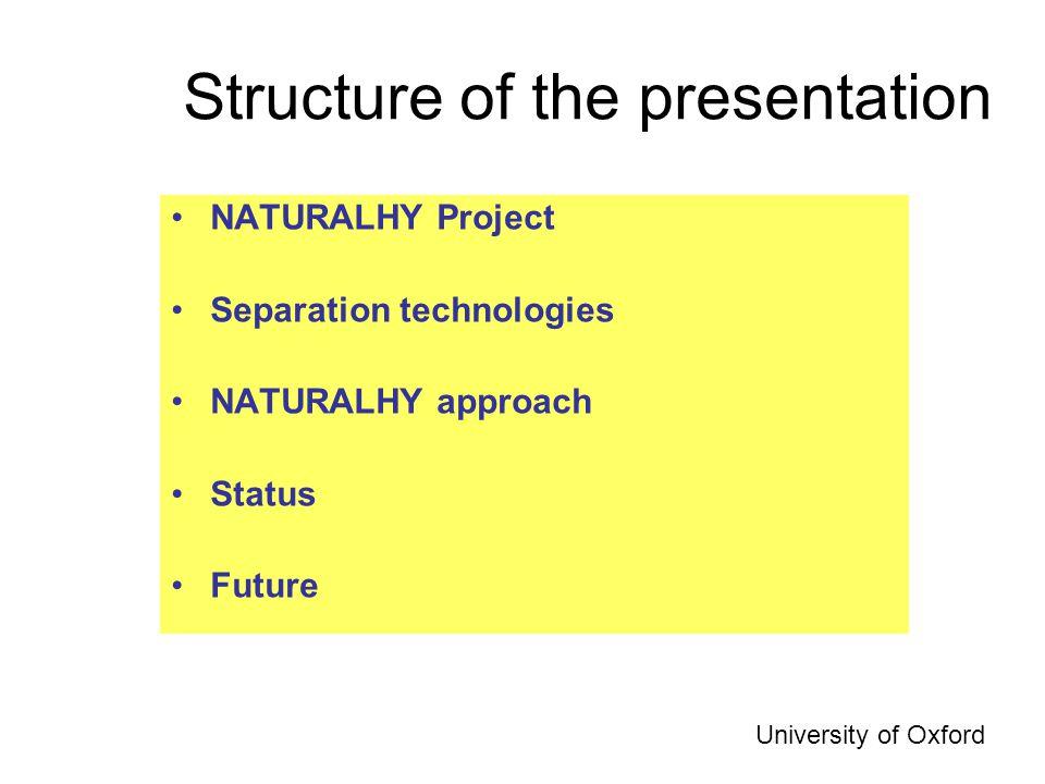 Process Design University of Oxford