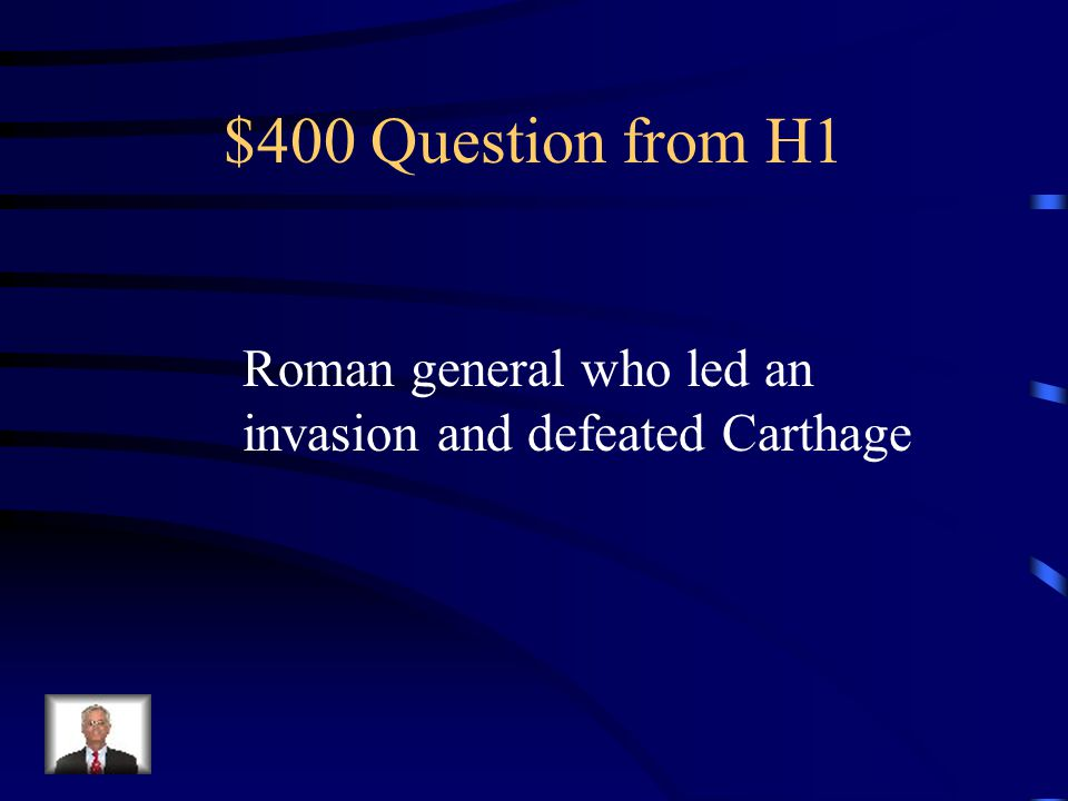 $400 Question from H3 Declared himself a god and tried to make his horse a senator