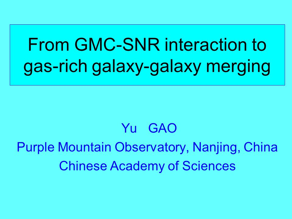 Zhang, Gao & Wang arXiv: 0911.4815 70um and 160um overlaid with CO(1-0)