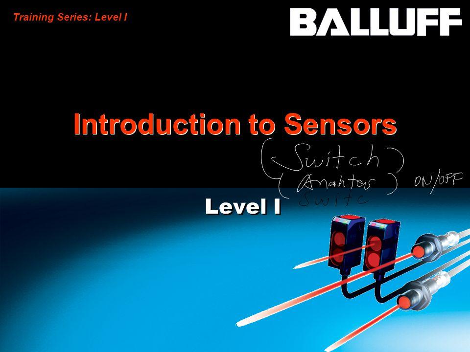 Training Series: Level I Introduction to Sensors Level I