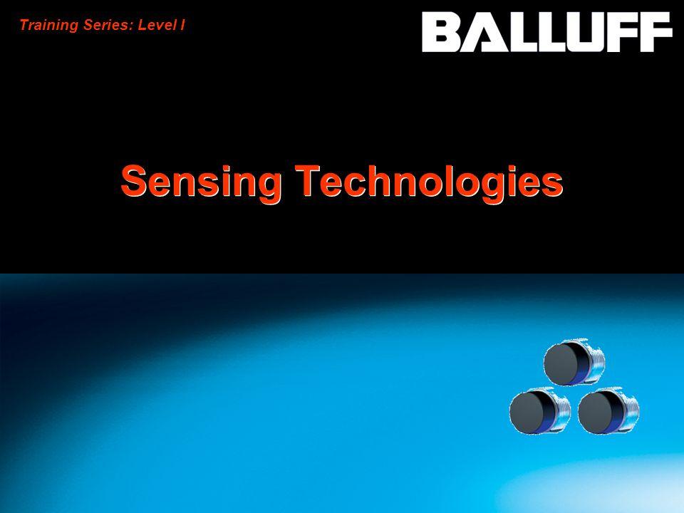 Training Series: Level I Sensing Technologies