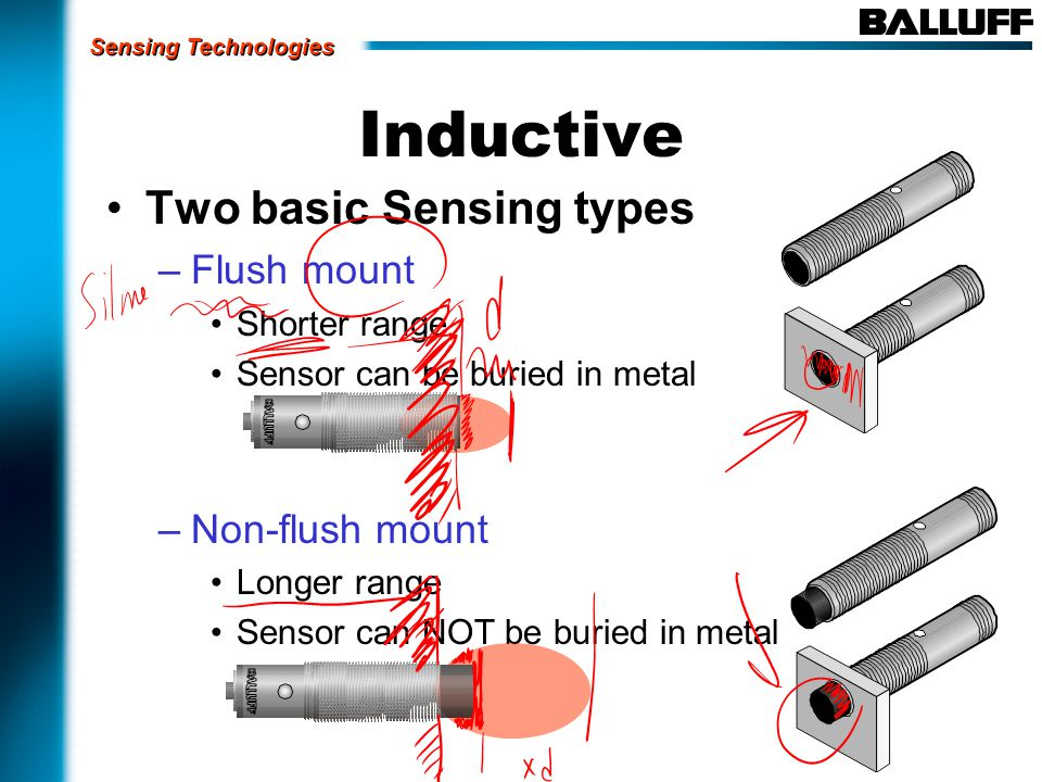 Optical Regardless of the operating mode, all optical sensors share the same operating principle: Light emitter Visible red Laser Infrared Light receiver Operation Emits a light beam then detects or measures changes in received light.
