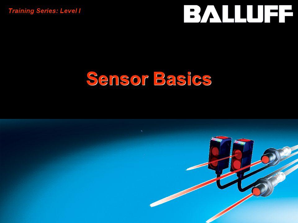 Training Series: Level I Sensor Basics