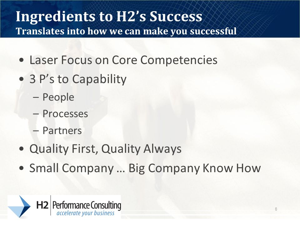 H2 Performance Consulting 9