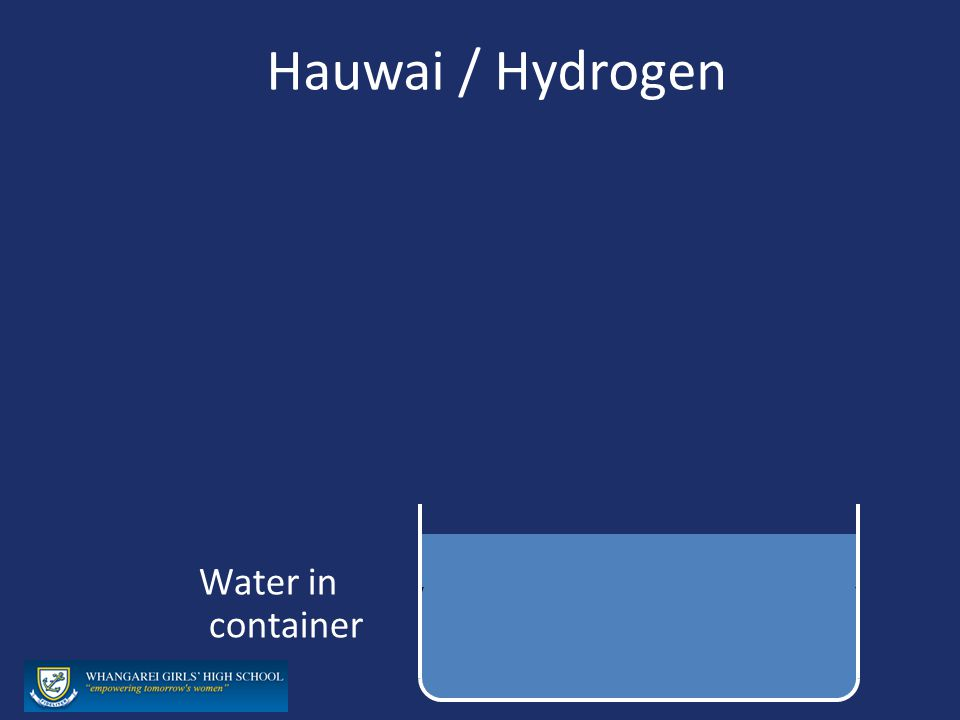 Hauwai / Hydrogen Water in container