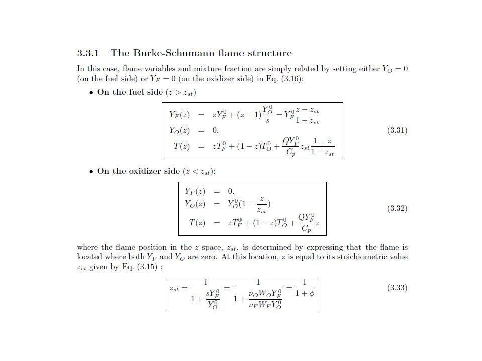 Jet in crossflow for combustion 9 species 28 reactions : N2 H O2 O OH H2 H2O HO2 H2O2 Global reaction : H2 + ½ (02 + 3.76N2)  H20 + ½(3.76N2) fuel + air