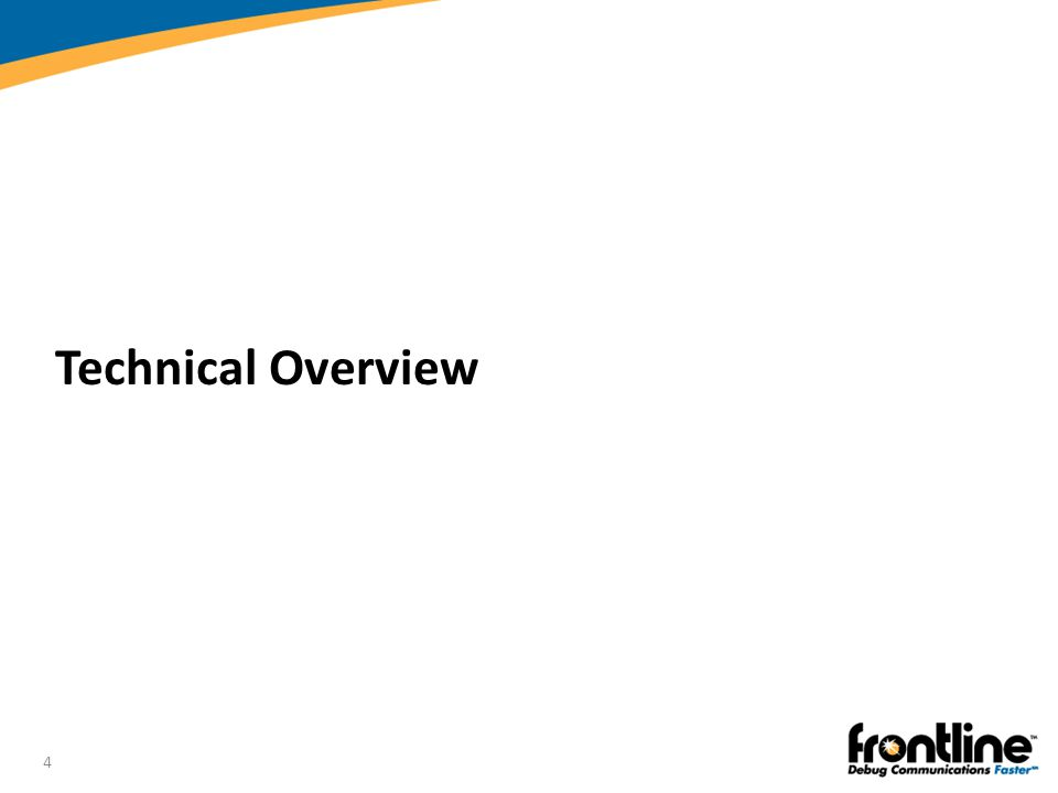 4 Technical Overview