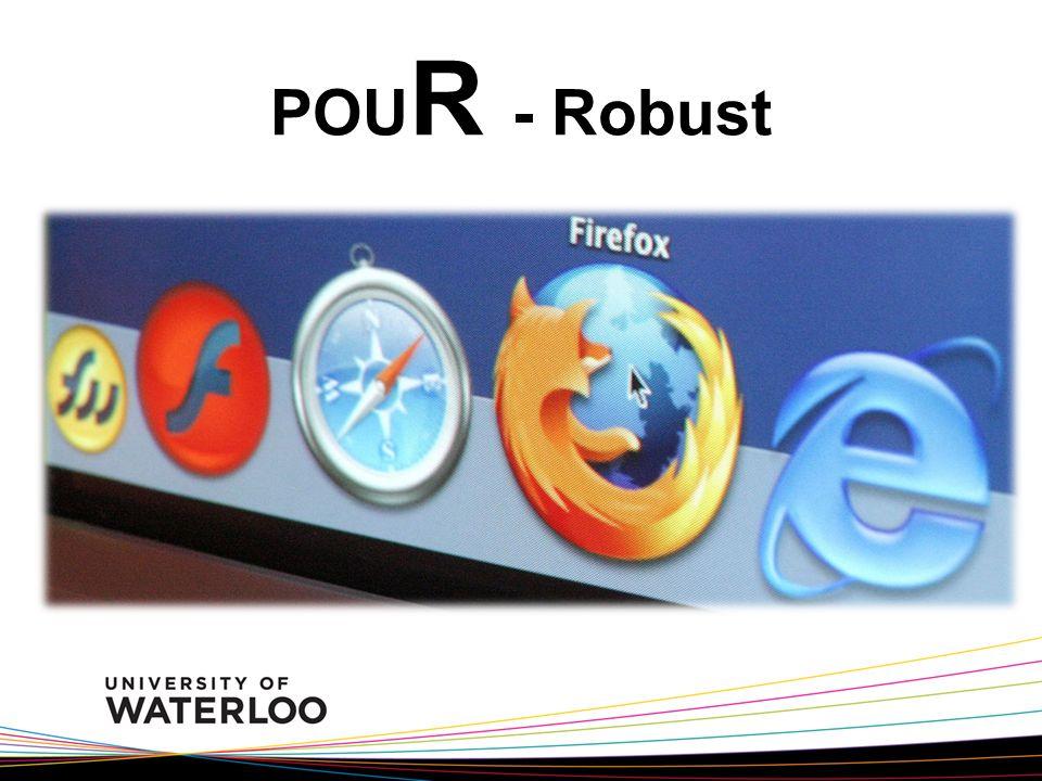 POU R - Robust