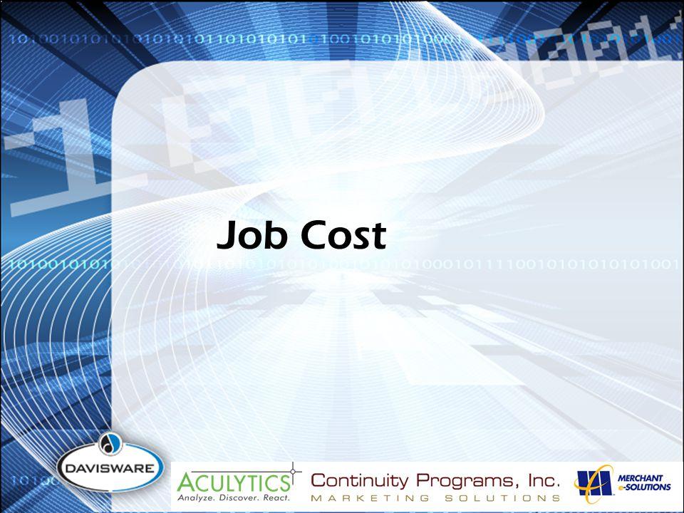 Job Cost