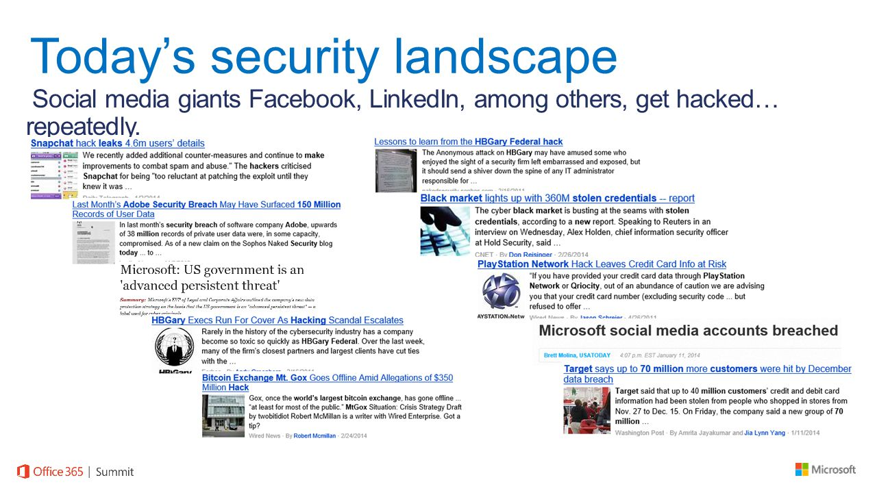 Social media giants Facebook, LinkedIn, among others, get hacked… repeatedly.