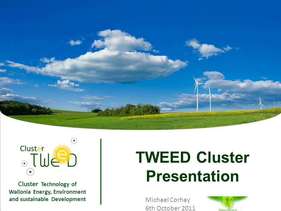 Cluster Technology of Wallonia Energy, Environment and sustainable Development 12 Biomass Project in Sub-tropical countries (Sénégal)