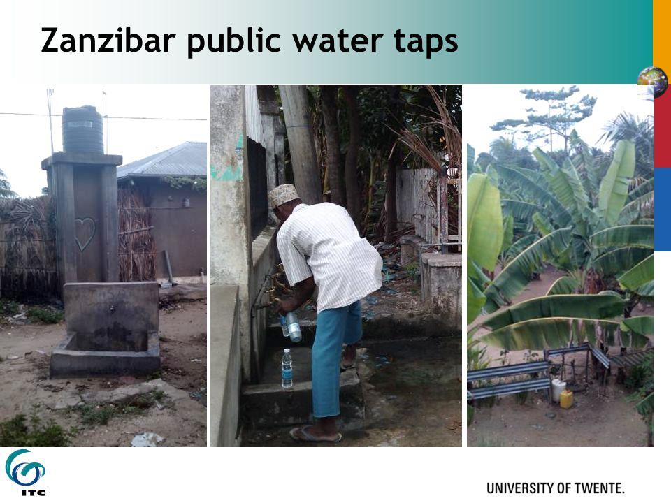 Zanzibar public water taps