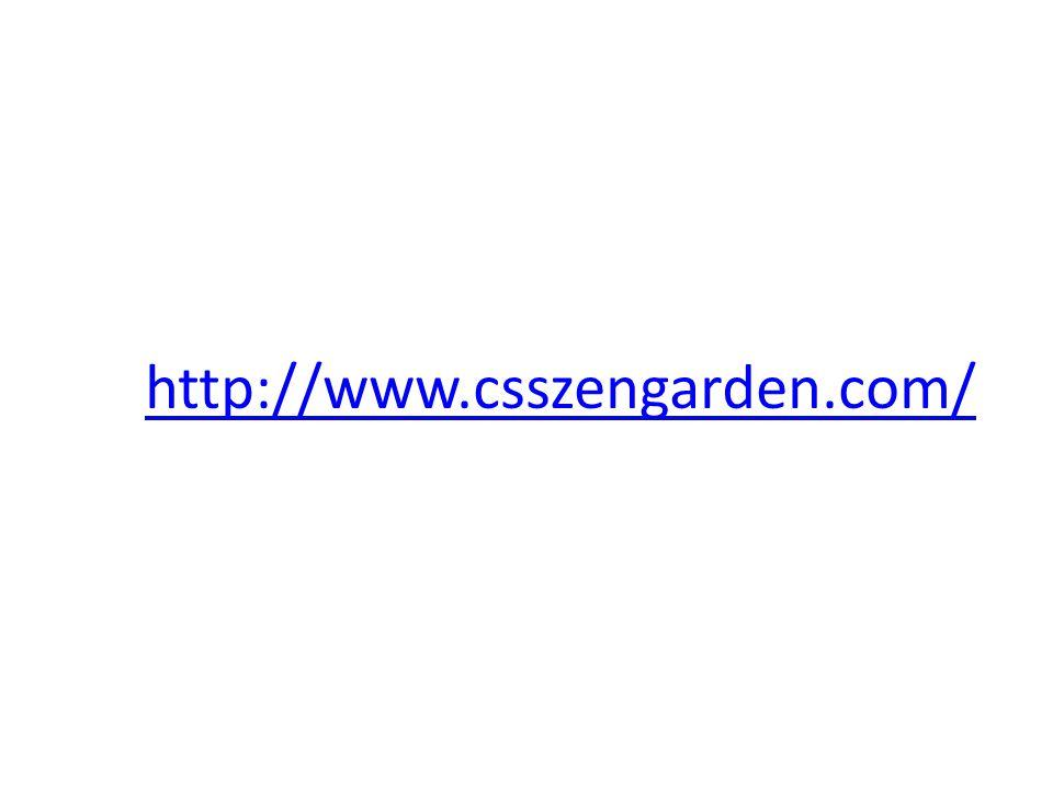 http://www.csszengarden.com/