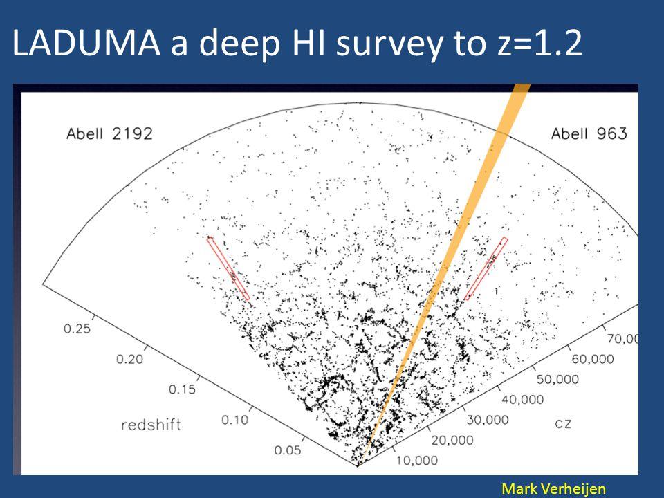 LADUMA a deep HI survey to z=1.2 Mark Verheijen