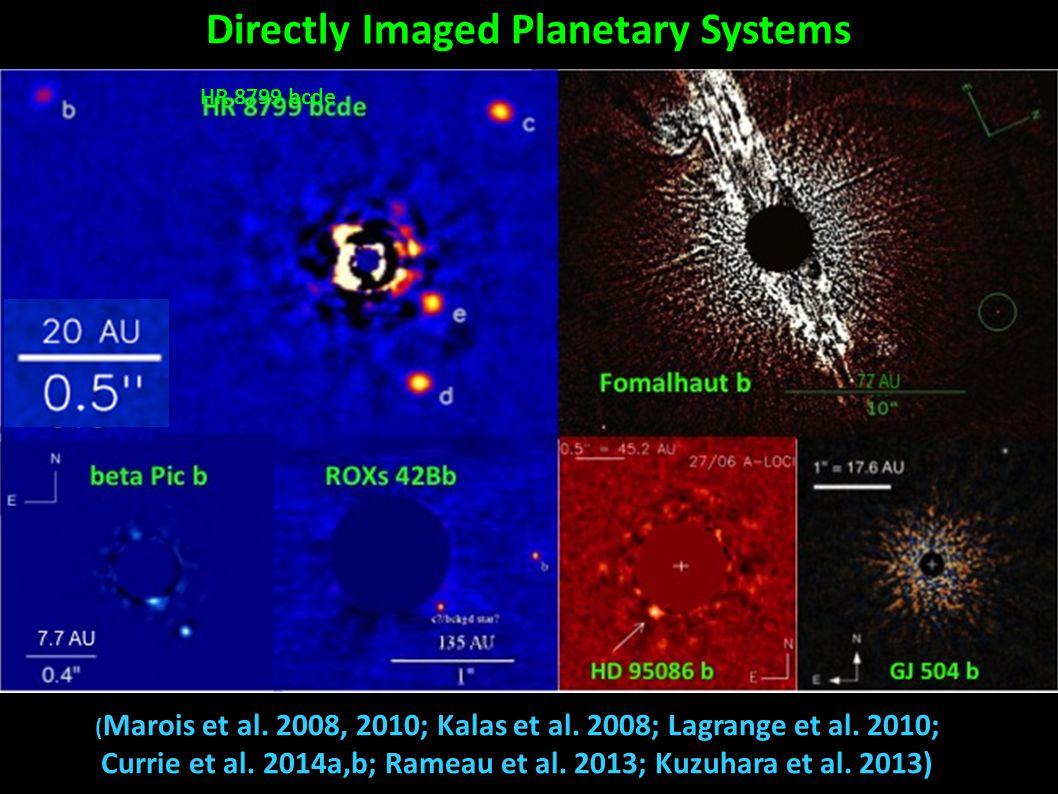 ( Marois et al. 2008, 2010; Kalas et al. 2008; Lagrange et al.