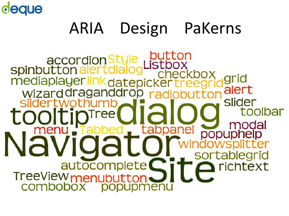 ARIA Design PaKerns
