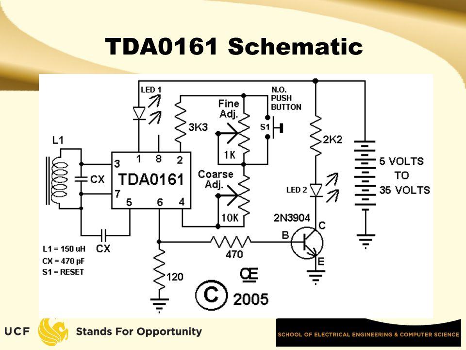 TDA0161 Schematic