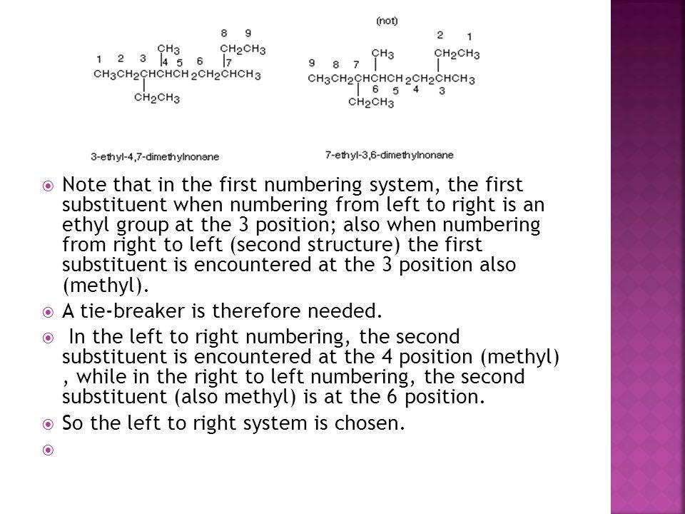  Substituents other than methyl, ethyl, propyl, butyl etc.