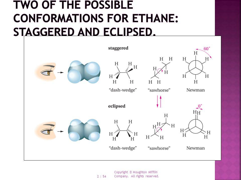  Cyclohexane adopts a puckered structure.
