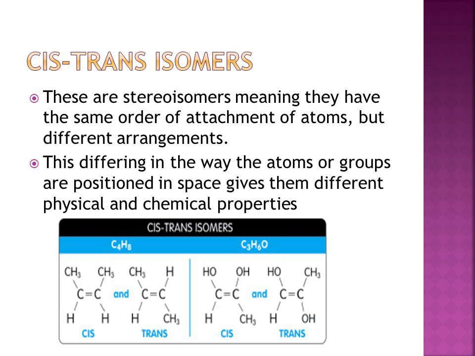  These are stereoisomers meaning they have the same order of attachment of atoms, but different arrangements.  This differing in the way the atoms o