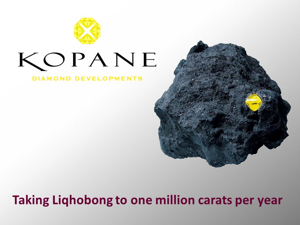 Taking Liqhobong to one million carats per year