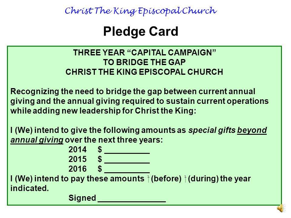 Christ The King Episcopal Church $30,000 $12,000 $48,000