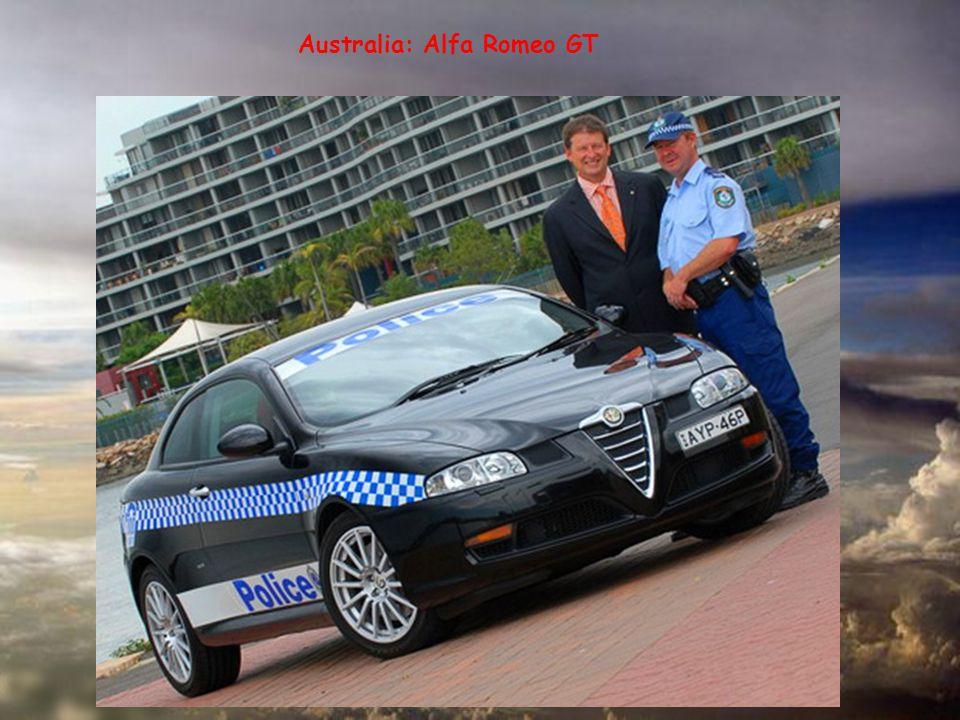 Australia: Alfa Romeo GT