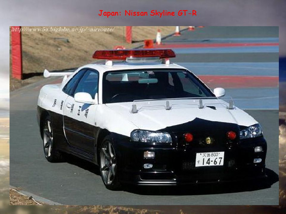 Japan: Nissan Skyline GT-R