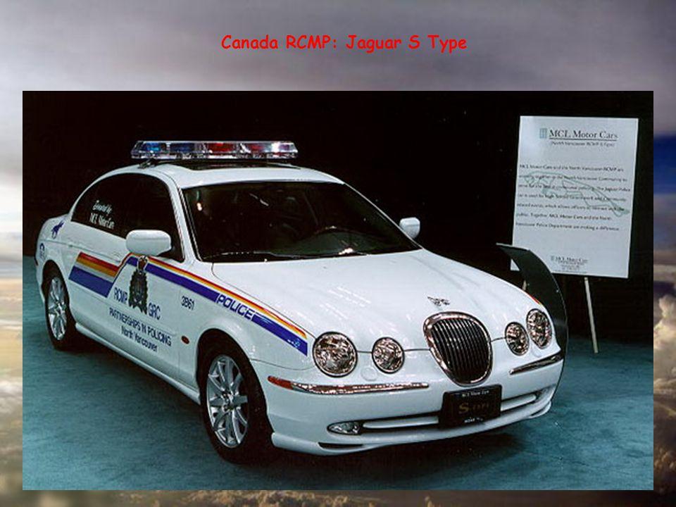 Canada RCMP: Jaguar S Type