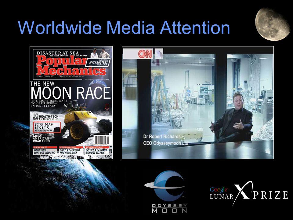 Worldwide Media Attention