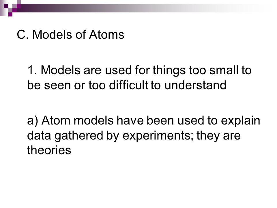 C.Models of Atoms 1.